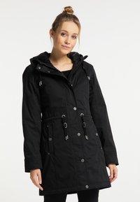 DreiMaster - Winter coat - schwarz - 0