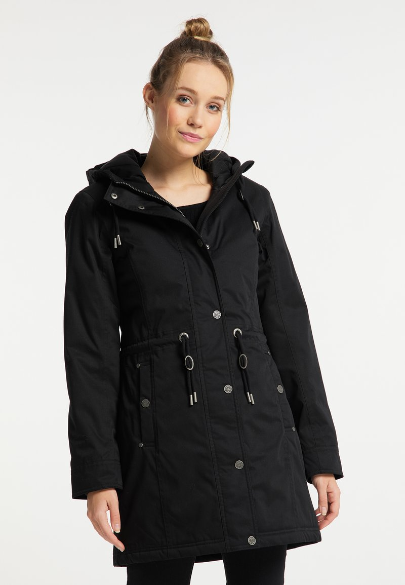DreiMaster - Winter coat - schwarz