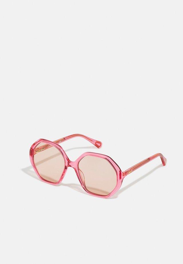 SUNGLASS KID UNISEX - Sluneční brýle - pink/brown