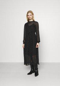 ONLY - ONLTRACY MIDI DRESS  - Denní šaty - black - 0