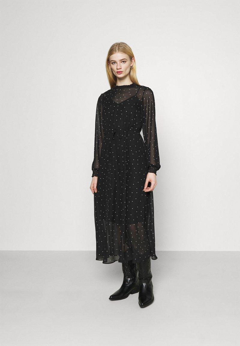 ONLY - ONLTRACY MIDI DRESS  - Denní šaty - black