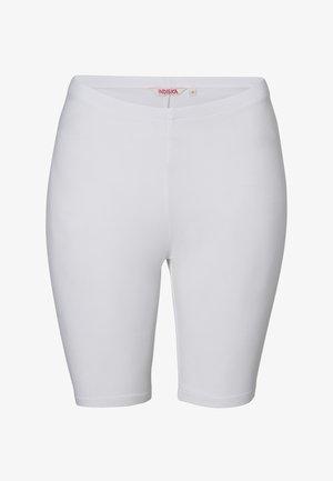 INDISKA CYCLING SHORTS CYCLING SHORTS - Shorts - white