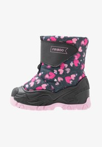 Friboo - Snowboots  - black/dark blue - 1
