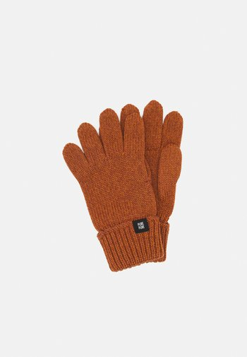 GLOVES UNISEX - Gloves - karamell