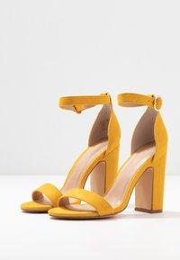 Anna Field - High heeled sandals - yellow - 4
