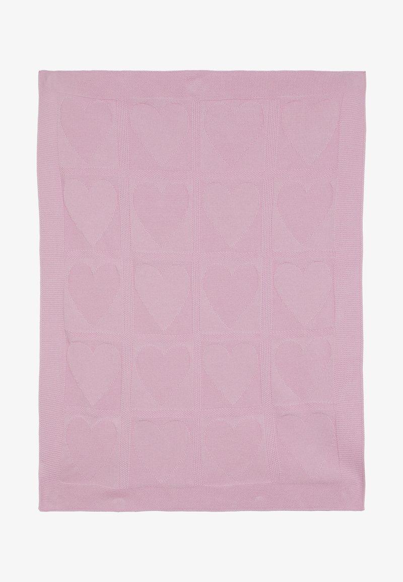 Benetton - BLANKET - Dětská deka - light pink