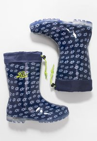 LICO - POWER BLINKY - Wellies - marine/weiss/lemon - 1