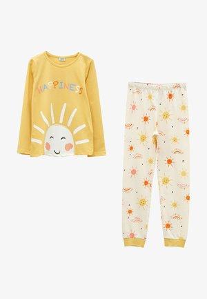 Pyjama set - yellow