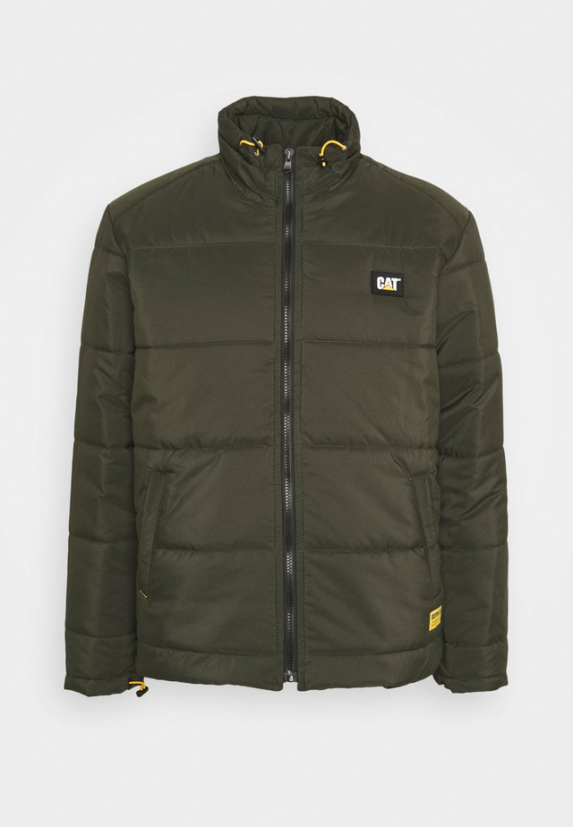 BASIC PUFFY JACKET - Giacca invernale - military