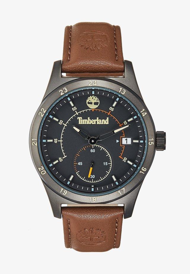 BOYNTON - Horloge - black/brown