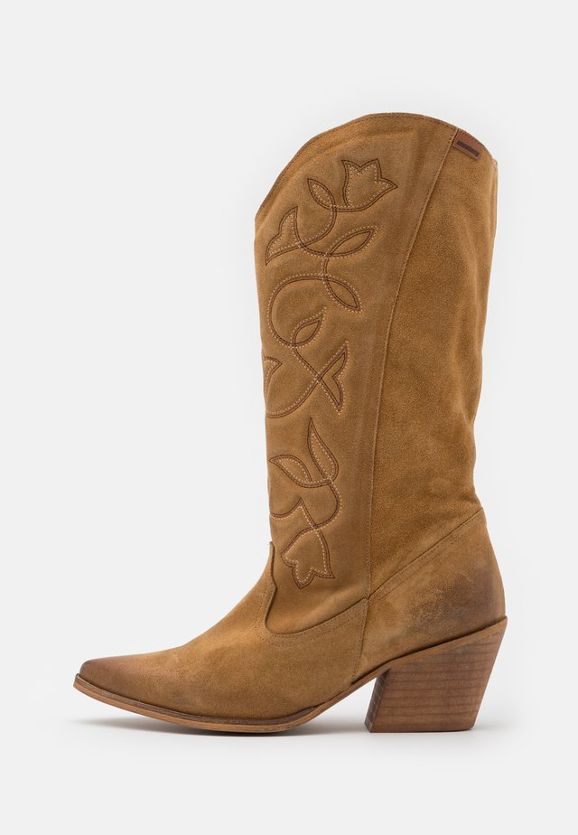 CENTA - Cowboy/Biker boots - light brown