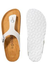 Palado - PALADO KOS - T-bar sandals - weiß dots - 2