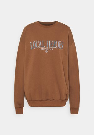 CHOCOLATE - Sweatshirt - brown