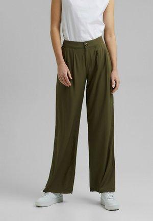 Pantalon classique - khaki green