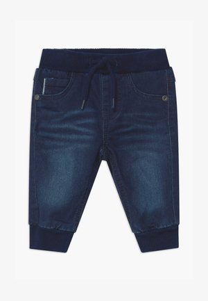 NBMROMEO DNMTOLLYS - Jeans baggy - dark blue denim