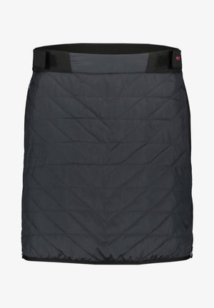 A-line skirt - anthrazit