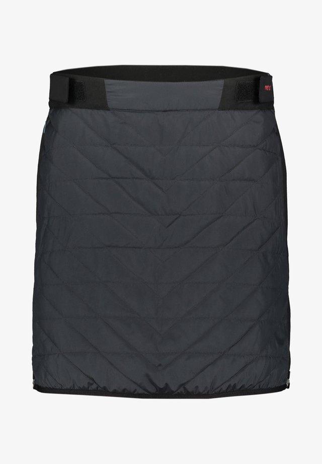 A-line skirt - anthrazit