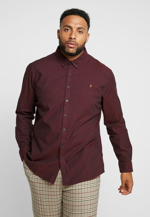 PLUS STEEN - Camicia - red