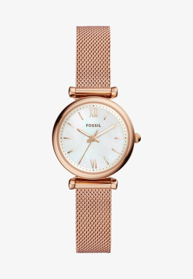 CARLIE - Horloge - roségold-coloured