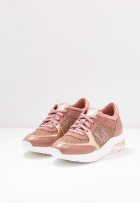 Liu Jo Jeans - KARLIE  - Trainers - pink/salt - 4