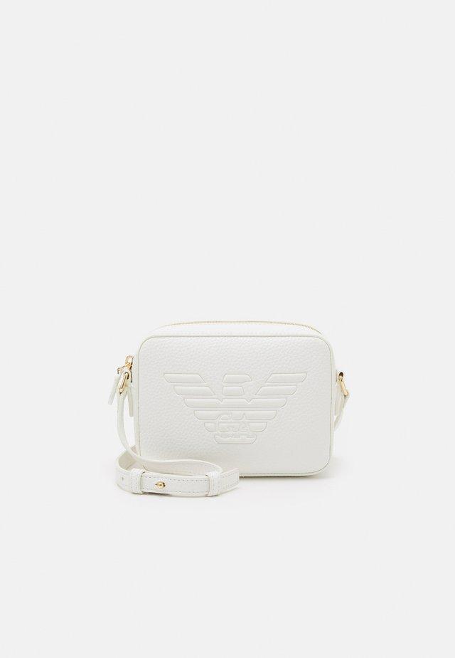 ROBERTACAMERA CASE - Across body bag - bianco/white