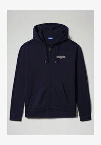 Napapijri - B-ICE FULL ZIP HOOD - Zip-up hoodie - medieval blue - 3