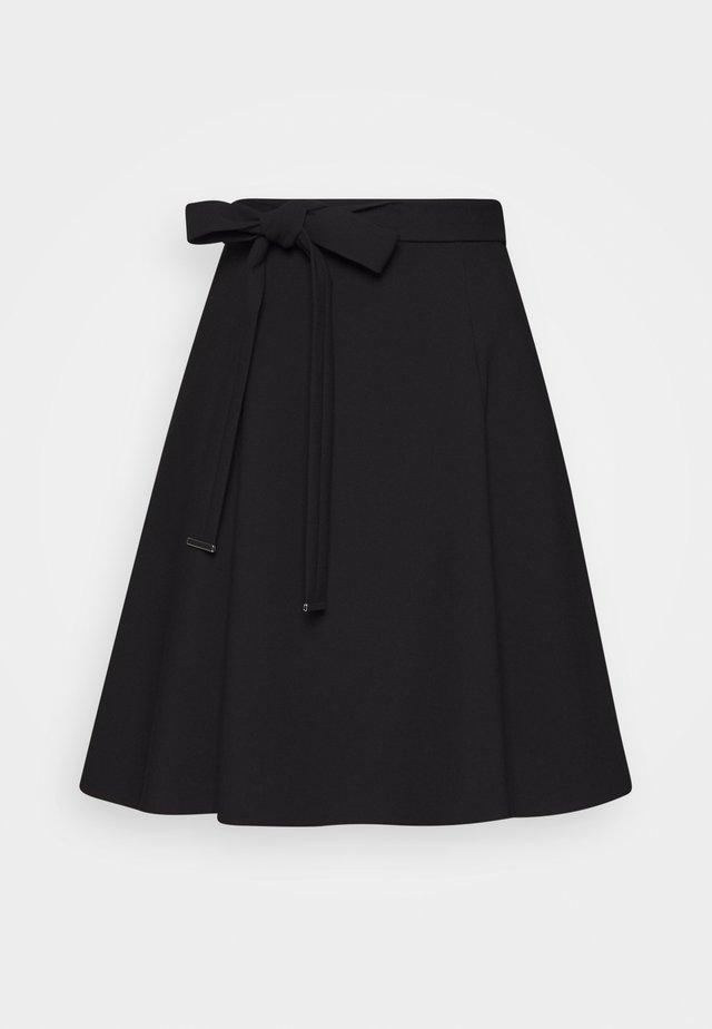 RAHENI - A-line skjørt - black