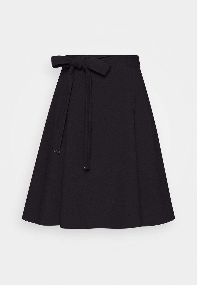HUGO - RAHENI - A-line skirt - black