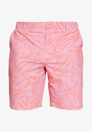 LINKS PRINTED SHORT - Korte broeken - lipstick