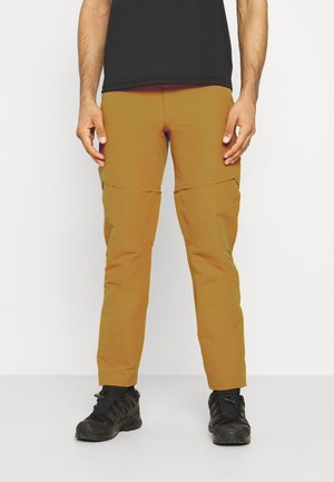 LIGHTNING CONVERTIBLE PANT  - Kalhoty - timber tan