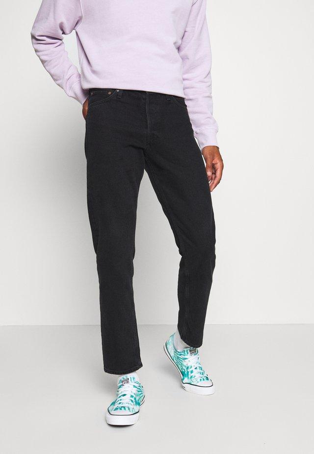 JJICHRIS JJORIGINAL - Straight leg jeans - black denim