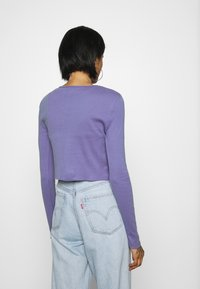 BDG Urban Outfitters - BUTTON DOWN CARDIGAN - Cardigan - violet - 2