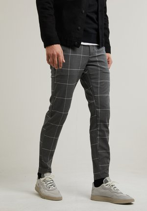 ACE.L SASH - Chinos - dark grey
