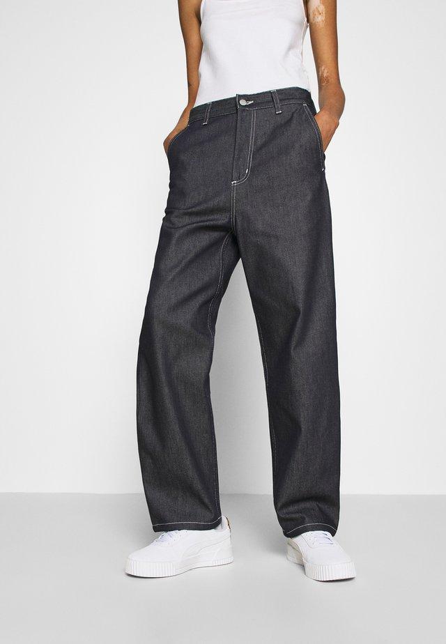 ARMANDA PANT - Trousers - blue