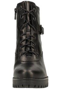 NeroGiardini - Lace-up ankle boots - black bk 100 - 6