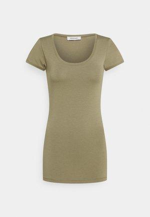 TRICK - T-shirt basic - light khaki