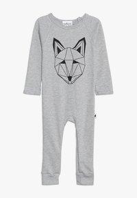 Tobias & The Bear - BABY JUST CALL ME FOX LONG ROMPER - Pyjamas - grey marl - 0