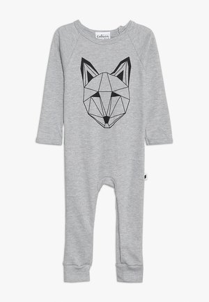 BABY JUST CALL ME FOX LONG ROMPER - Pyjamas - grey marl