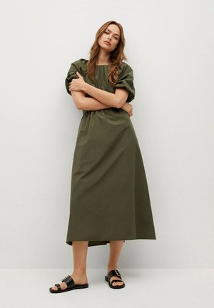 MET POFMOUWEN - Day dress - kaki