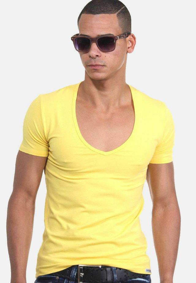 T-shirt - bas - gelb