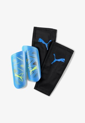 Shin pads - nrgy blue-yellow alert