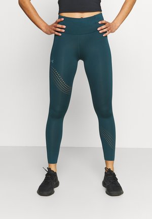 SPEED POCKET ANKLE  - Leggings - dark cyan