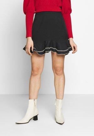 AFFINITY SKIRT - Spódnica trapezowa - black
