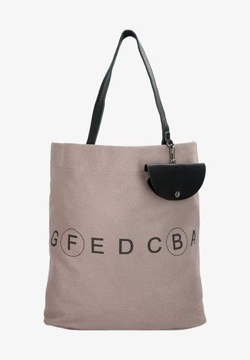 Shopping bag - light taupe