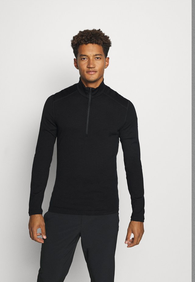MENS 260 TECH HALF ZIP - Neule - black