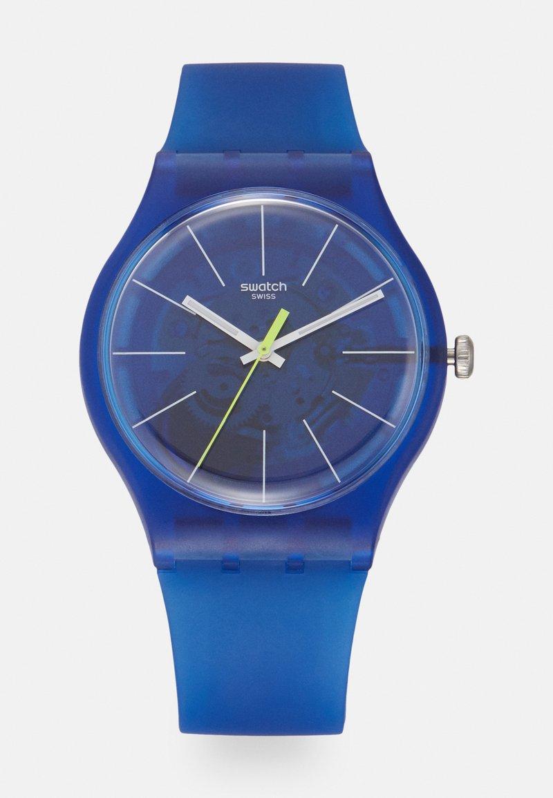 Swatch - BLUE SIRUP - Zegarek - blau