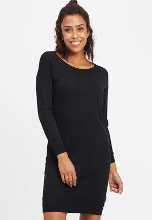 ELLA - Abito in maglia - black