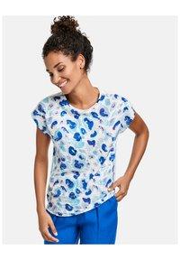 Taifun - Print T-shirt - offwhite gemustert - 0