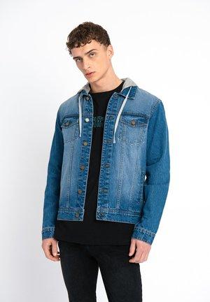 Džínová bunda - mid blue