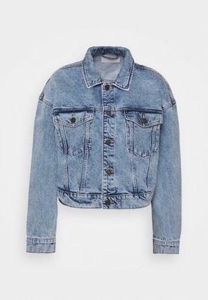 NMAVA JACKET - Jeansjakke - light blue denim